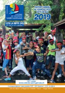 Couverture rapport 2019